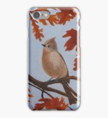 Autumn Titmouse iPhone Case/Skin