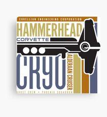 Hammerhead Corvette Canvas Print
