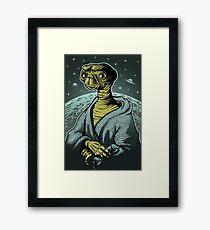 ET portrait Framed Print