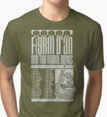 Figrin D'An and the Modal Nodes Tri-blend T-Shirt