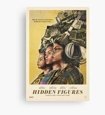 Hidden Figures Canvas Print