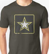 Vintage Look US Army Star Logo  Unisex T-Shirt