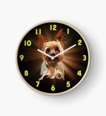 Its a Yorkie Too Clock