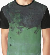Abstract green nature print Graphic T-Shirt