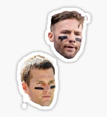 Tom Brady & Julian Edelman Sticker
