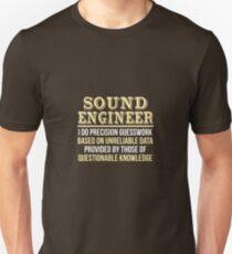 Sound Engineer Definition T-Shirt
