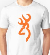 Browning - Orange Unisex T-Shirt