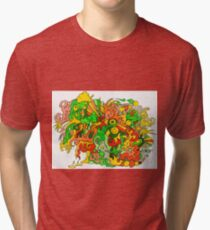 Psychedelic Groovy Fun Tri-blend T-Shirt