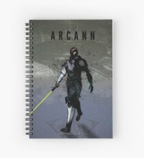 Legends of Gaming - Arcann Spiral Notebook
