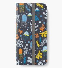 Seaweed and Jelly Fish iPhone Wallet/Case/Skin
