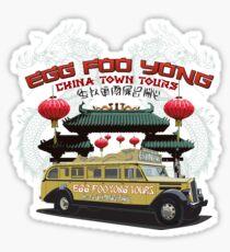 Egg Foo Yong China Town Bus Tours Sticker