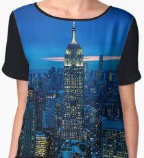Empire State Building Chiffon Top