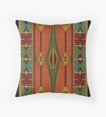 Art Deco Canvas Throw Pillow