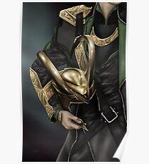 Helmet Series Loki Poster