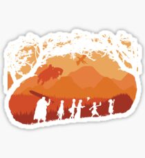 The Fellowship of the Berserk Sticker