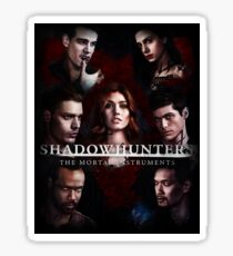 Shadowhunters - Poster #1 Sticker