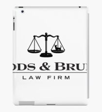 Woods and Bruiser Law Firm iPad Case/Skin