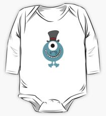One Eyed Blue Monster KIDS CLOTHING One Piece - Long Sleeve