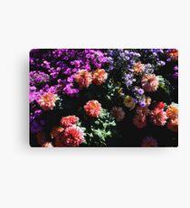 Blumen Cluster Leinwanddruck