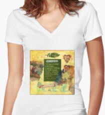 """A Successful Marriage"" Collage  Women's Fitted V-Neck T-Shirt"