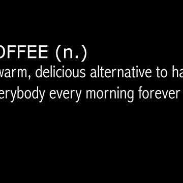 white coffee by 3e3e