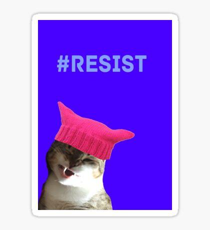 Resist (Sally) Sticker