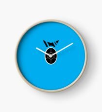 Black Squad Logo Clock