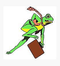 Frogger Frog Photographic Print