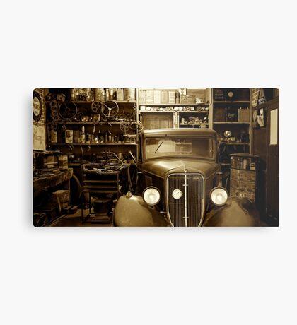 Classic Garage. Metal Print