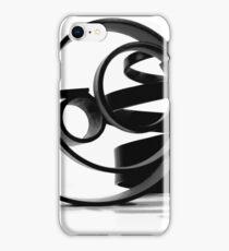 BLACK ABSTRAT iPhone Case/Skin