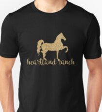 Heartland Ranch w/ Horse Unisex T-Shirt