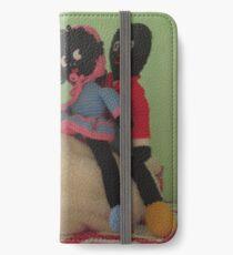 Gollies riding a Chicken iPhone Wallet/Case/Skin