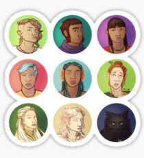 Mistlands Charcters Sticker