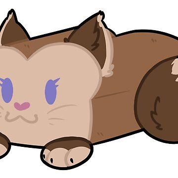 Cat Loaf by koartss