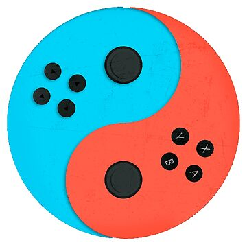 Switch Joy Yin Yang by showart00