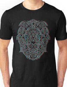 3D Style Lion Head Unisex T-Shirt