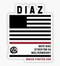 Nate Diaz - Fight Camp Collection Sticker