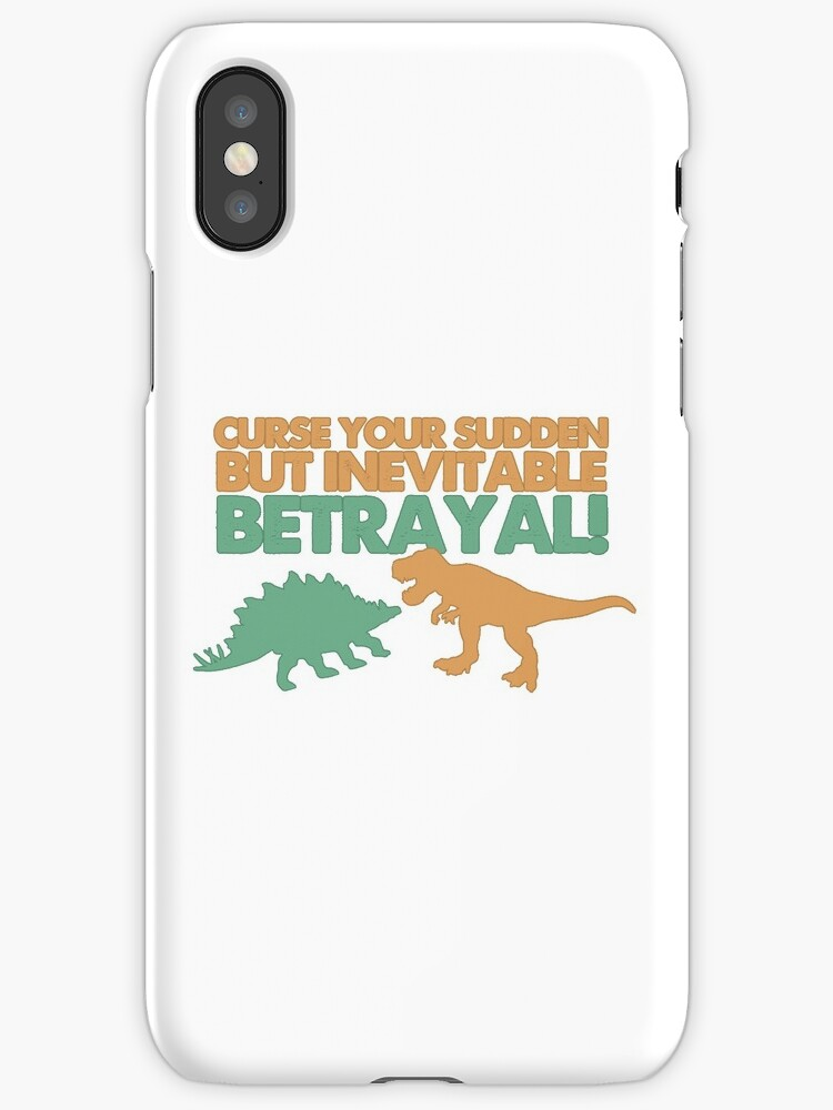 Curse your sudden but inevitable betrayal! by heroics