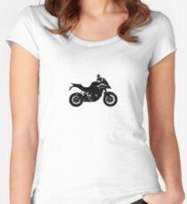 Ducati Multistrada - Black Women's Fitted Scoop T-Shirt