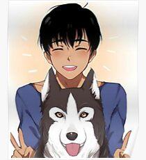 Yuri!!! On ice - Phichit Poster