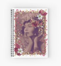 Gilda In the Pink Spiral Notebook