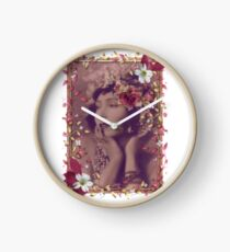 Gilda In the Pink Clock