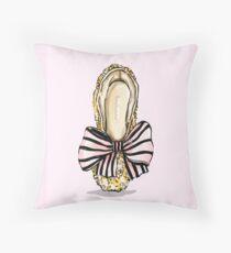 Bejewelled Ballet Throw Pillow