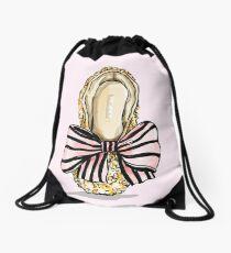 Bejewelled Ballet Drawstring Bag