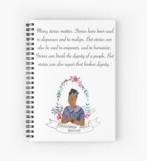 Chimamanda Ngozi Adichie  Spiral Notebook