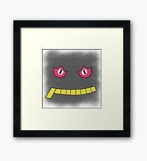 Pokemon Banette face Framed Print