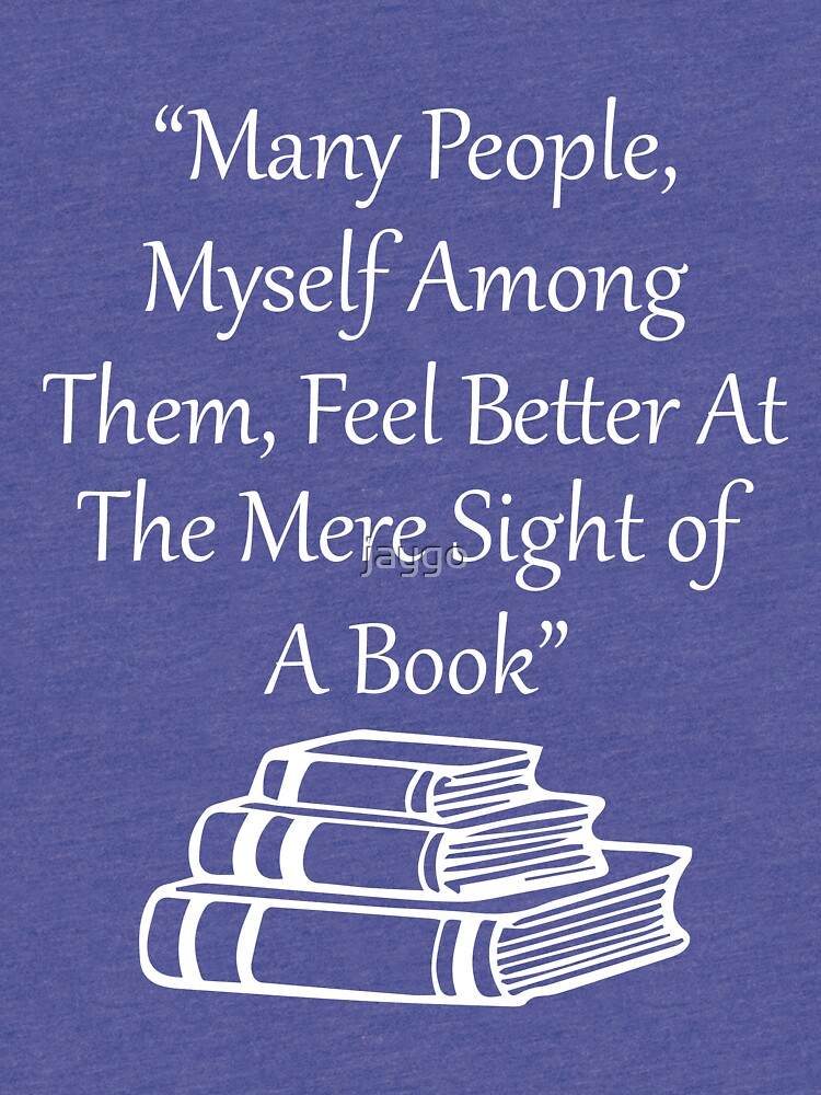 Feel Better At Mere Sight Of A Book by jaygo