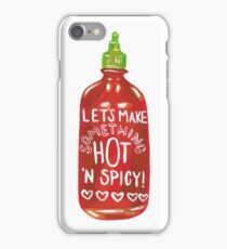 Hot 'n Spicy iPhone Case/Skin