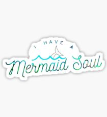 I have a crystal Mermaid Soul Abstract Multi Color Cubizm Painting Sticker