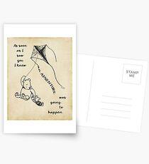 Winnie the Pooh - Adventure Postcards